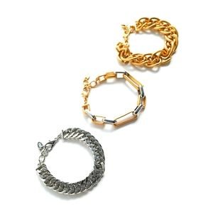 ZARA of chain link bracelets